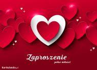 eKartki elektroniczne z tagiem: e-Kartka na walentynki Zaproszenie pełne miłości,