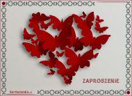 eKartki Miłość - Walentynki Zaproszenie pełne serdeczności,