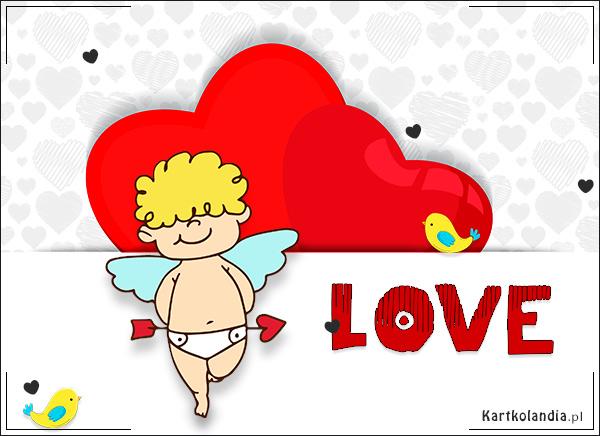eKartki Miłość - Walentynki Love,
