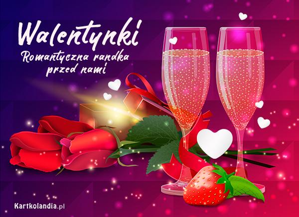 eKartki elektroniczne z tagiem: Zaproszenie Romantyczna randka,