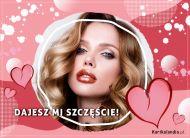 eKartki elektroniczne z tagiem: Walentynki Dajesz mi szczęście!,