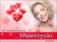 eKartki Miłość - Walentynki Dla najpiękniejszej Walentynki,