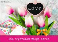eKartki Miłość - Walentynki Dla wybranki mego serca!,