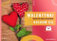 eKartki Miłość - Walentynki Jesteś dla mnie wszystkim!,