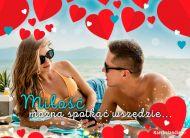 eKartki Miłość - Walentynki Miłość jest wszędzie...,