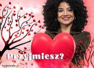 eKartki Miłość - Walentynki Przyjmiesz moje serce?,
