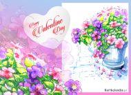 eKartki Miłość - Walentynki Walentynkowe kwiaty,