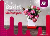 eKartki elektroniczne z tagiem: Róża Walentynkowy bukiet,