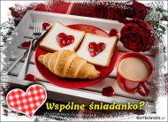 eKartki Miłość - Walentynki Wspólne śniadanko?,