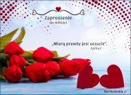 eKartki Miłość - Walentynki Zaproszenie do miłości,