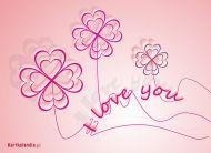 eKartki elektroniczne z tagiem: Darmowe kartki elektroniczne I love you,