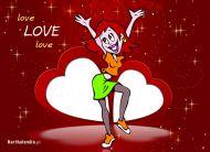 eKartki Mi³o¶æ - Walentynki Love,