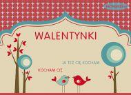 eKartki Mi³o¶æ - Walentynki Walentynkowy teatrzyk,