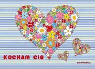eKartki Miłość - Walentynki Kwitnące walentynki,