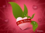 eKartki Miłość - Walentynki Nasza miłość kwitnie,