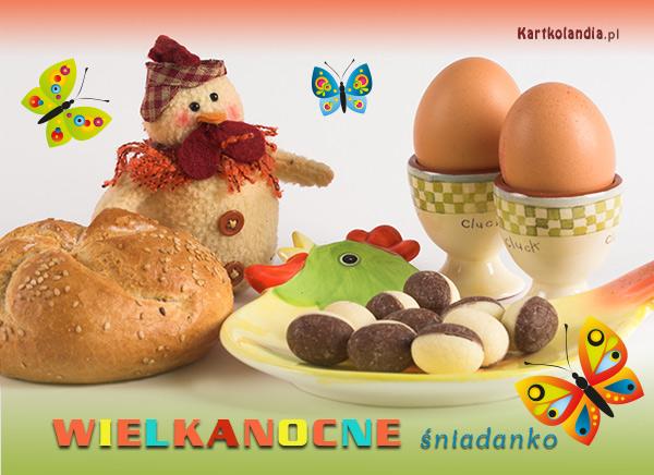 Wielkanocne śniadanko
