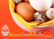 eKartki Wielkanoc Kolorowych Świąt,