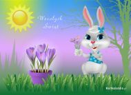eKartki Wielkanoc ¦wi±teczny zaj±czek,