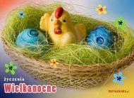 eKartki Wielkanoc W wielkanocnym koszyczku,