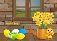 eKartki Wielkanoc Wielkanoc w domu,