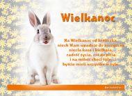 eKartki Wielkanoc Wielkanoc z króliczkiem,