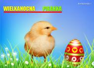 eKartki Wielkanoc Pisanka wielkanocna ,