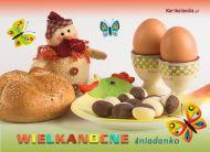 eKartki Wielkanoc Wielkanocne śniadanko,