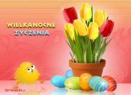 eKartki Wielkanoc Wielkanocne tulipany,