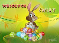 eKartki Wielkanoc Zając na Wielkanoc,
