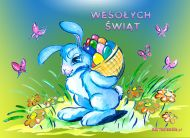 eKartki Wielkanoc Zaj±czek wielkanocny,