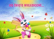 eKartki Wielkanoc Idą święta wielkanocne,