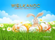 eKartki Wielkanoc Kartka z zaj±cem,