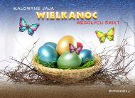 eKartki elektroniczne z tagiem: e-Kartka wielkanocna Malowane jaja,