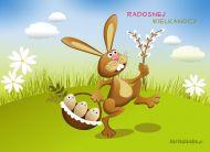 eKartki elektroniczne z tagiem: e-Kartka wielkanocna Radosnej Wielkanocy,