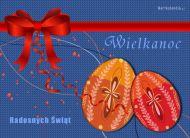 eKartki Wielkanoc Radosnych Świąt,