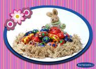 eKartki Wielkanoc Szczodry zajączek,
