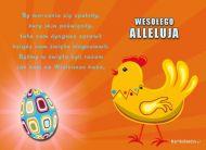 eKartki Wielkanoc Wesołego Alleluja,