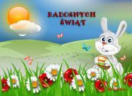 eKartki Wielkanoc Życzenia od Zająca,