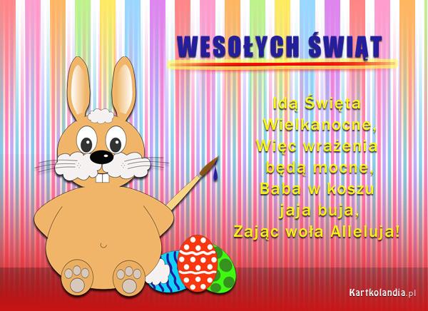 E - kartka na Wielkanoc