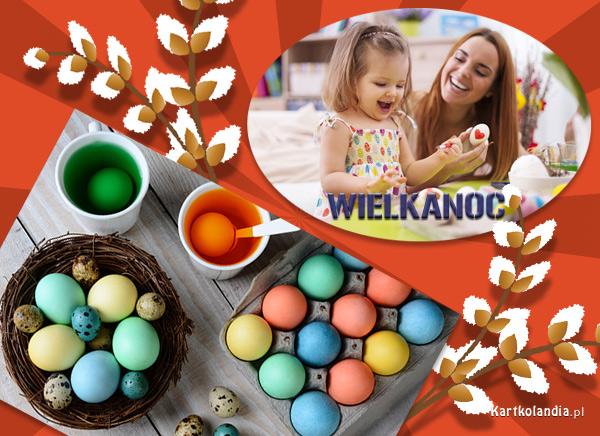 Malowanie jajeczek