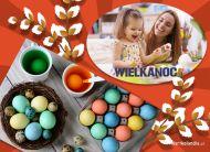 eKartki Wielkanoc Malowanie jajeczek,