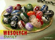 eKartki Wielkanoc Polskie kraszanki,