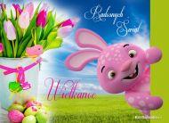 eKartki elektroniczne z tagiem: e-Kartka na Wielkanoc Radosny zaj±czek,
