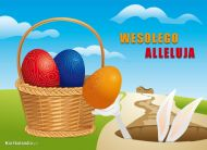 eKartki Wielkanoc Weso³ego Alleluja,