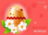eKartki Wielkanoc Wielkanocne Alleluja,
