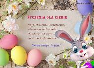eKartki elektroniczne z tagiem: e-Kartka na Wielkanoc ¯yczenia dla Ciebie,