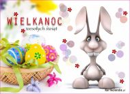 eKartki Wielkanoc Życzenia od zajączka,