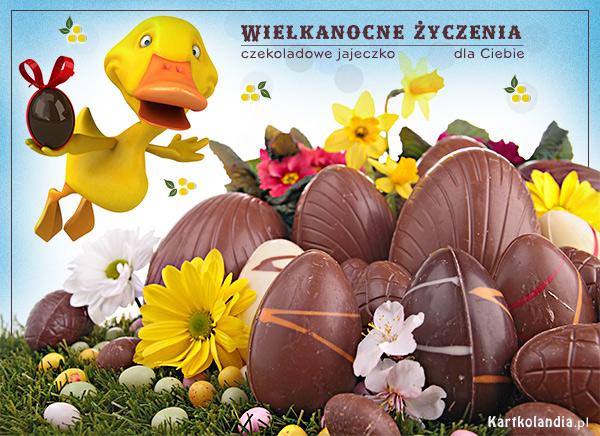 Czekoladowe jajeczko dla Ciebie
