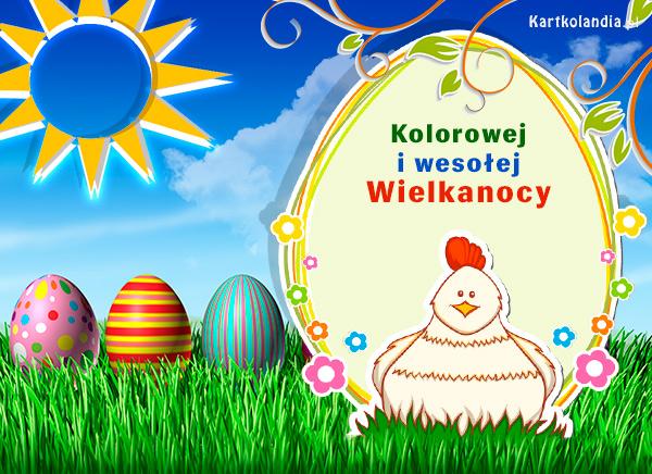 Kolorowej i wesołej Wielkanocy