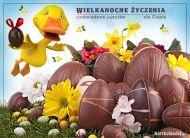 eKartki elektroniczne z tagiem: e-Kartki wielkanocne Czekoladowe jajeczko dla Ciebie,
